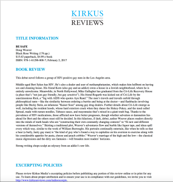 Kirkus review Be Safe